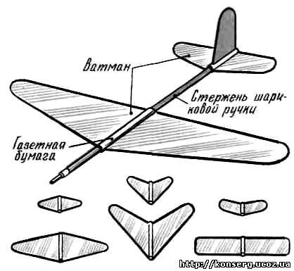 Как сделать планеры